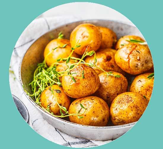 Pommes de terre grenaille à emporter